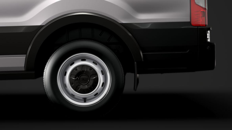 ford transit van 350 l3h2 leader dciv 2020 3d model 3ds max fbx c4d lwo ma mb 3dm hrc xsi obj 319945