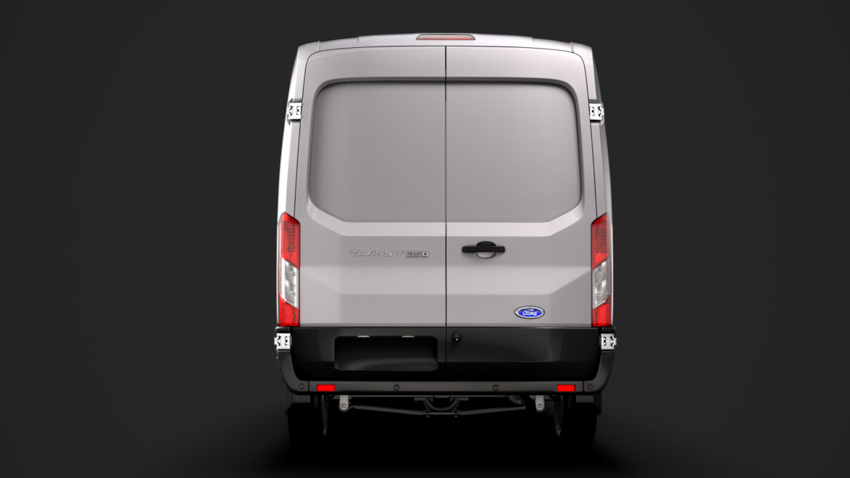 ford transit van 350 l3h2 leader dciv 2020 3d model 3ds max fbx c4d lwo ma mb 3dm hrc xsi obj 319951