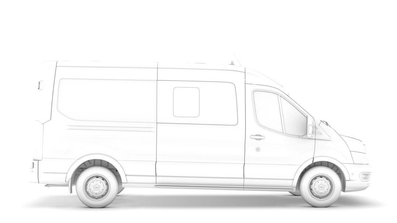 ford transit van 350 l3h2 leader dciv 2020 3d model 3ds max fbx c4d lwo ma mb 3dm hrc xsi obj 319953