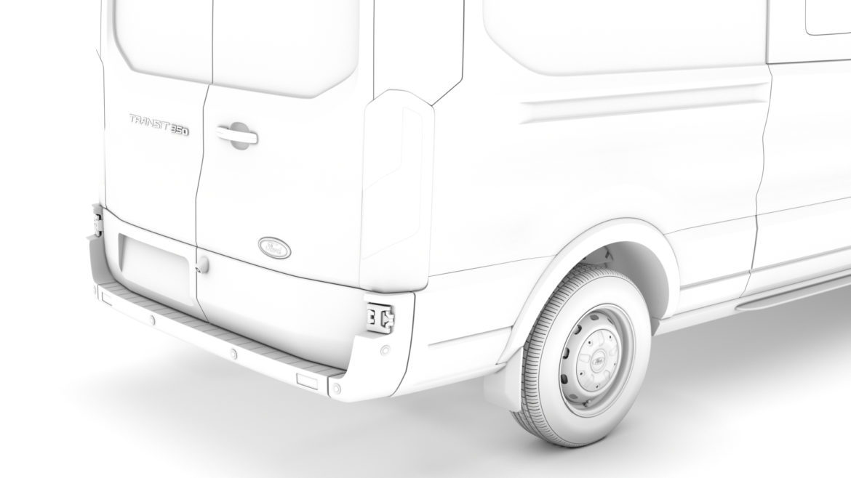 ford transit van 350 l3h2 leader dciv 2020 3d model 3ds max fbx c4d lwo ma mb 3dm hrc xsi obj 319962