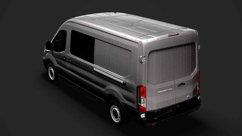 ford transit van 350 l3h2 leader dciv 2020 3d model 3ds max fbx c4d lwo ma mb 3dm hrc xsi obj 319971