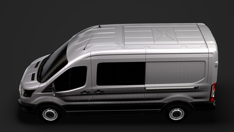 ford transit van 350 l3h2 leader dciv 2020 3d model 3ds max fbx c4d lwo ma mb 3dm hrc xsi obj 319972