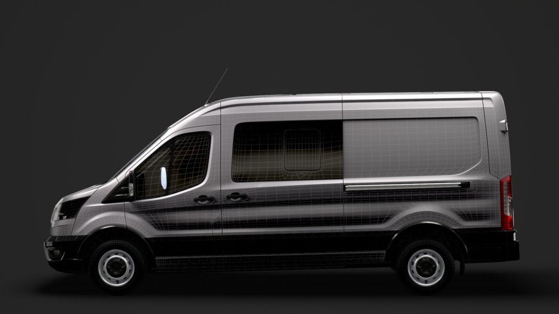 ford transit van 350 l3h2 leader dciv 2020 3d model 3ds max fbx c4d lwo ma mb 3dm hrc xsi obj 319973