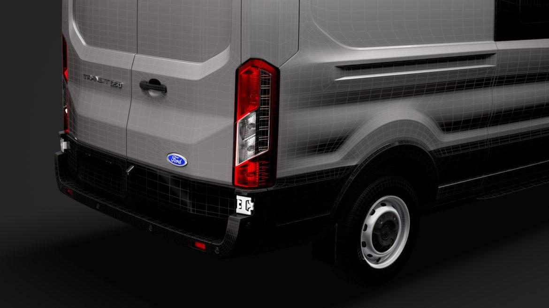 ford transit van 350 l3h2 leader dciv 2020 3d model 3ds max fbx c4d lwo ma mb 3dm hrc xsi obj 319978