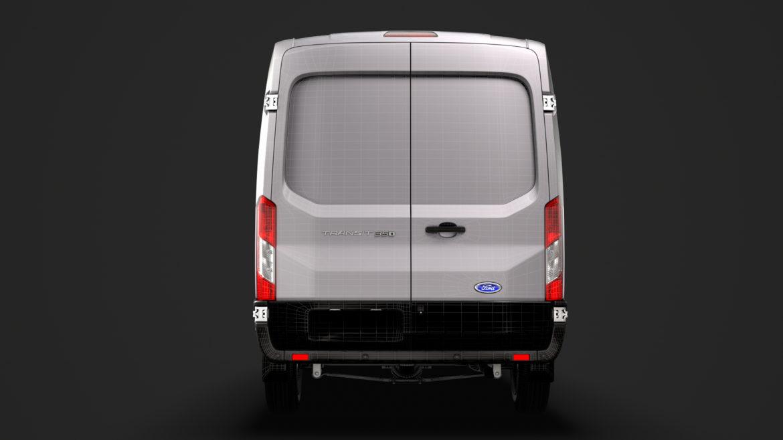 ford transit van 350 l3h2 leader dciv 2020 3d model 3ds max fbx c4d lwo ma mb 3dm hrc xsi obj 319981