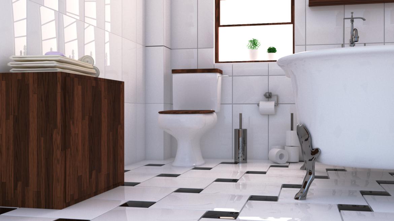 bathroom interior 1 3d model 3ds max fbx obj 320044