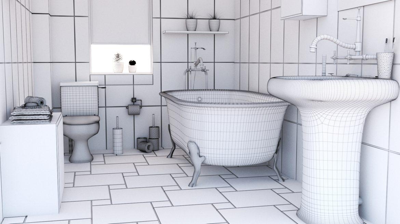 bathroom interior 1 3d model 3ds max fbx obj 320055