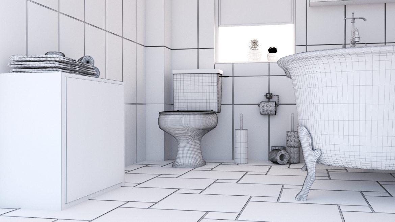 bathroom interior 1 3d model 3ds max fbx obj 320056