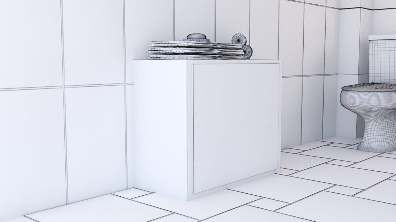 bathroom interior 1 3d model 3ds max fbx obj 320059