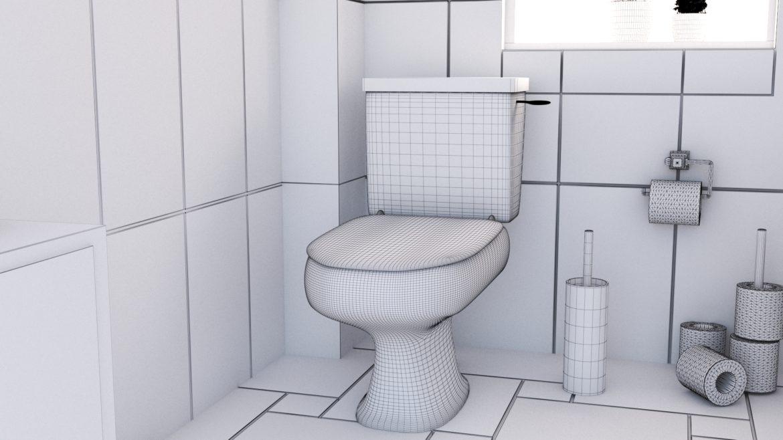 bathroom interior 1 3d model 3ds max fbx obj 320060