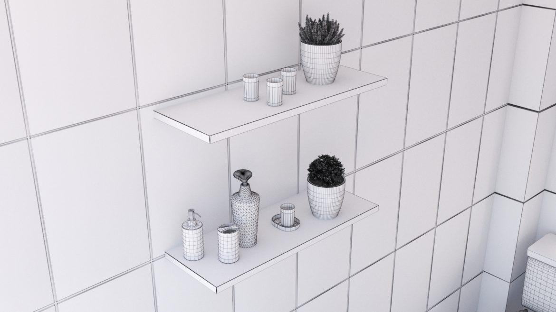 bathroom interior 1 3d model 3ds max fbx obj 320063