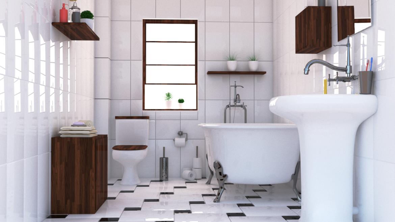 bathroom interior 1 3d model 3ds max fbx obj 320070