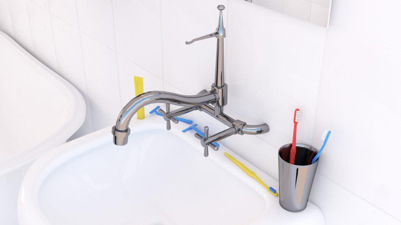 bathroom interior 1 3d model 3ds max fbx obj 320074