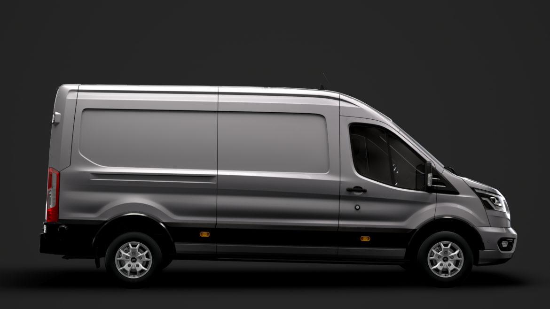ford transit van 350 l3h2 limited 2020 3d model 3ds max fbx c4d lwo ma mb 3dm hrc xsi obj 320154