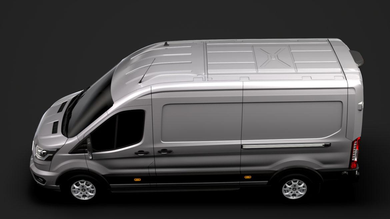 ford transit van 350 l3h2 limited 2020 3d model 3ds max fbx c4d lwo ma mb 3dm hrc xsi obj 320157