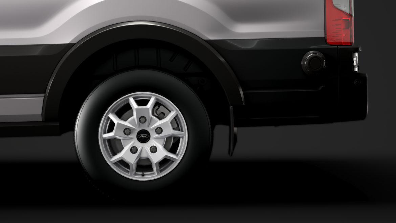 ford transit van 350 l3h2 limited 2020 3d model 3ds max fbx c4d lwo ma mb 3dm hrc xsi obj 320160