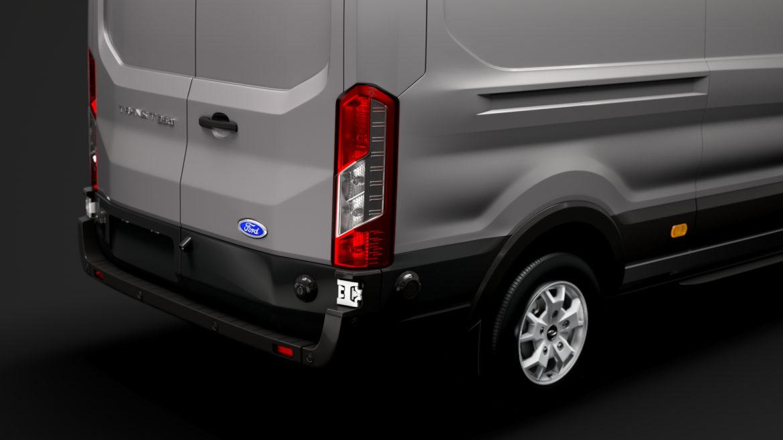 ford transit van 350 l3h2 limited 2020 3d model 3ds max fbx c4d lwo ma mb 3dm hrc xsi obj 320163