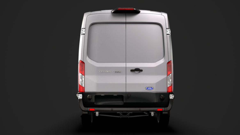 ford transit van 350 l3h2 limited 2020 3d model 3ds max fbx c4d lwo ma mb 3dm hrc xsi obj 320166