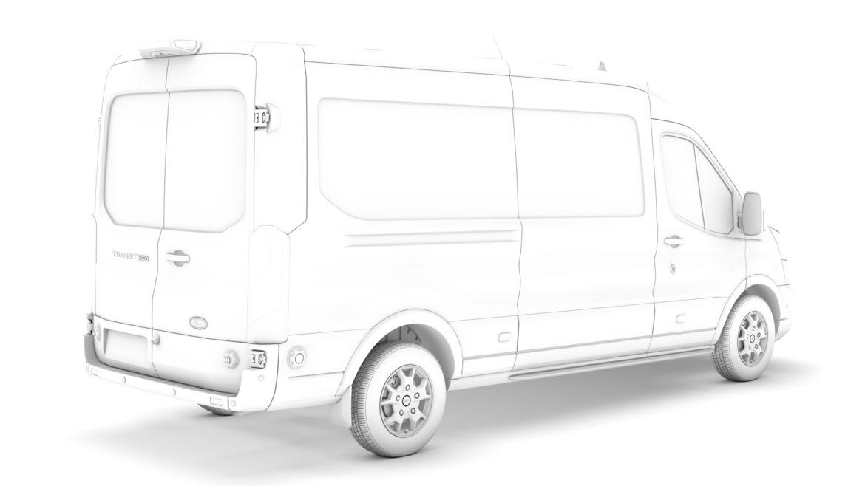 ford transit van 350 l3h2 limited 2020 3d model 3ds max fbx c4d lwo ma mb 3dm hrc xsi obj 320169