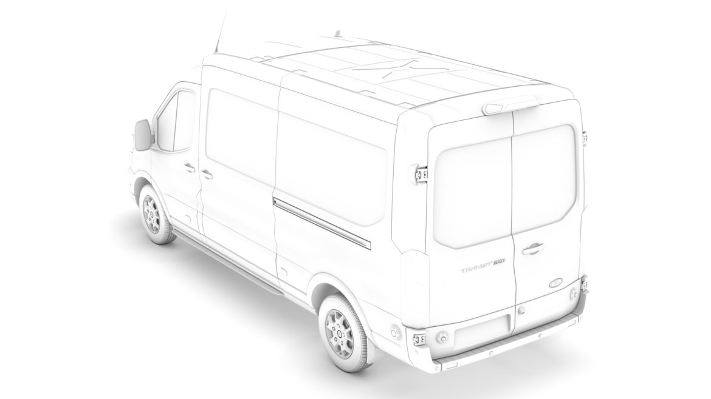ford transit van 350 l3h2 limited 2020 3d model 3ds max fbx c4d lwo ma mb 3dm hrc xsi obj 320170