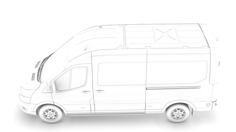 ford transit van 350 l3h2 limited 2020 3d model 3ds max fbx c4d lwo ma mb 3dm hrc xsi obj 320171