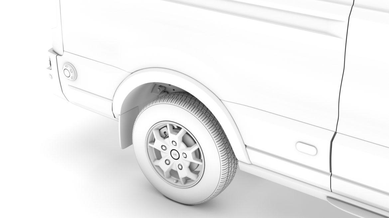 ford transit van 350 l3h2 limited 2020 3d model 3ds max fbx c4d lwo ma mb 3dm hrc xsi obj 320178
