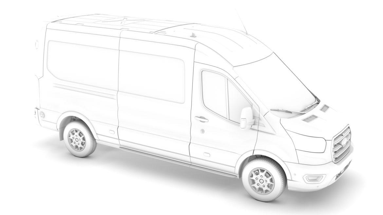 ford transit van 350 l3h2 limited 2020 3d model 3ds max fbx c4d lwo ma mb 3dm hrc xsi obj 320179
