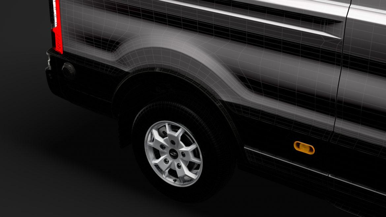 ford transit van 350 l3h2 limited 2020 3d model 3ds max fbx c4d lwo ma mb 3dm hrc xsi obj 320192