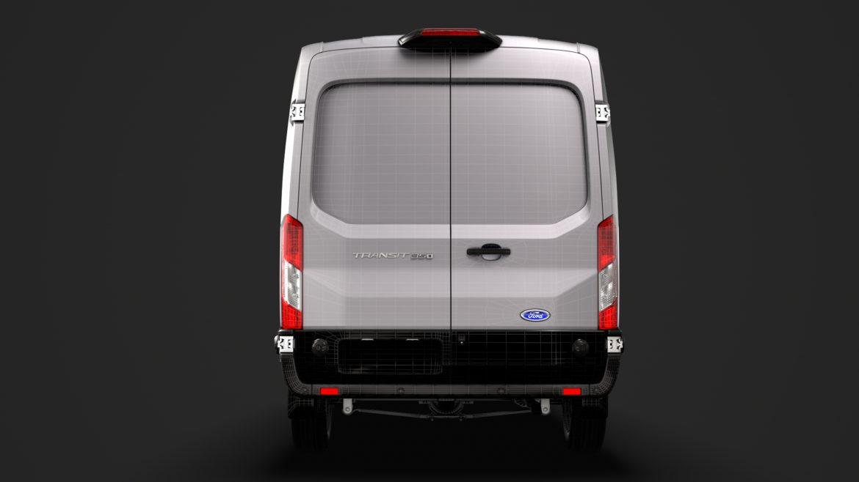 ford transit van 350 l3h2 limited 2020 3d model 3ds max fbx c4d lwo ma mb 3dm hrc xsi obj 320194