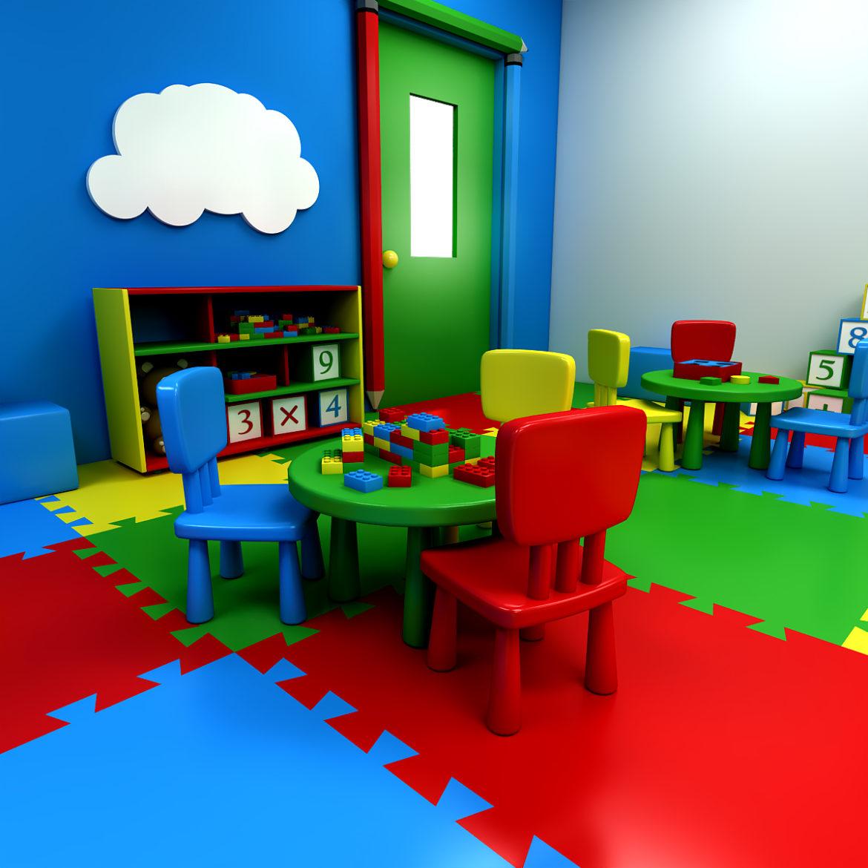 kindergarten 3d model 3ds fbx obj 320419