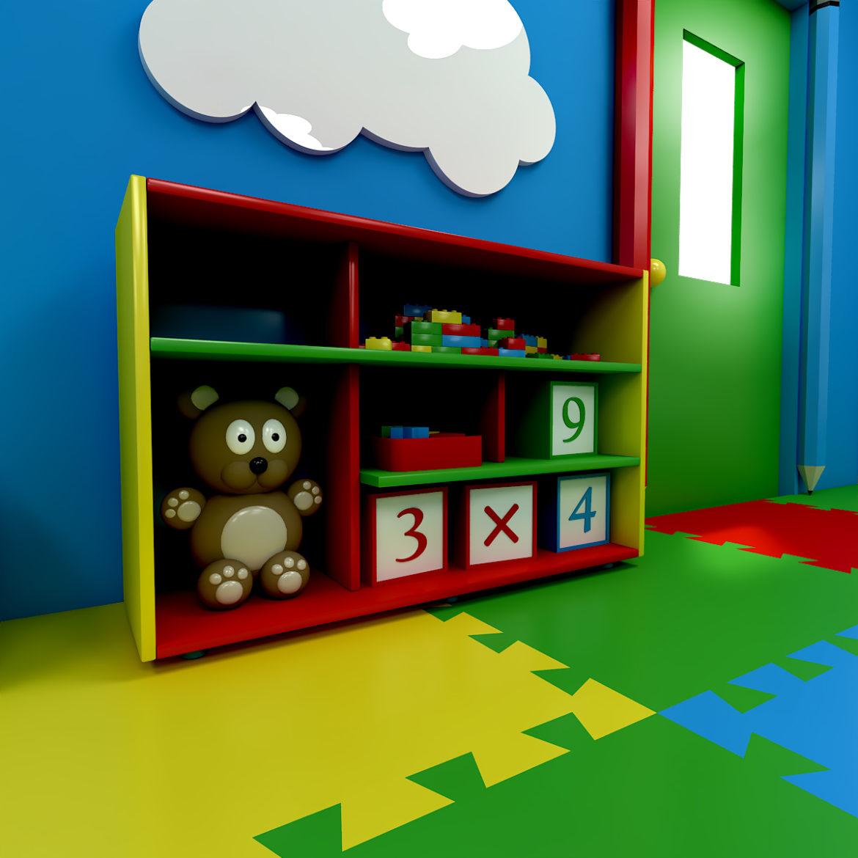 kindergarten 3d model 3ds fbx obj 320420