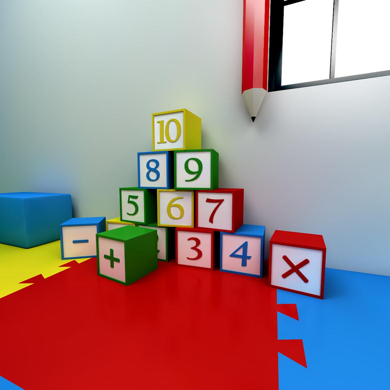 kindergarten 3d model 3ds fbx obj 320423