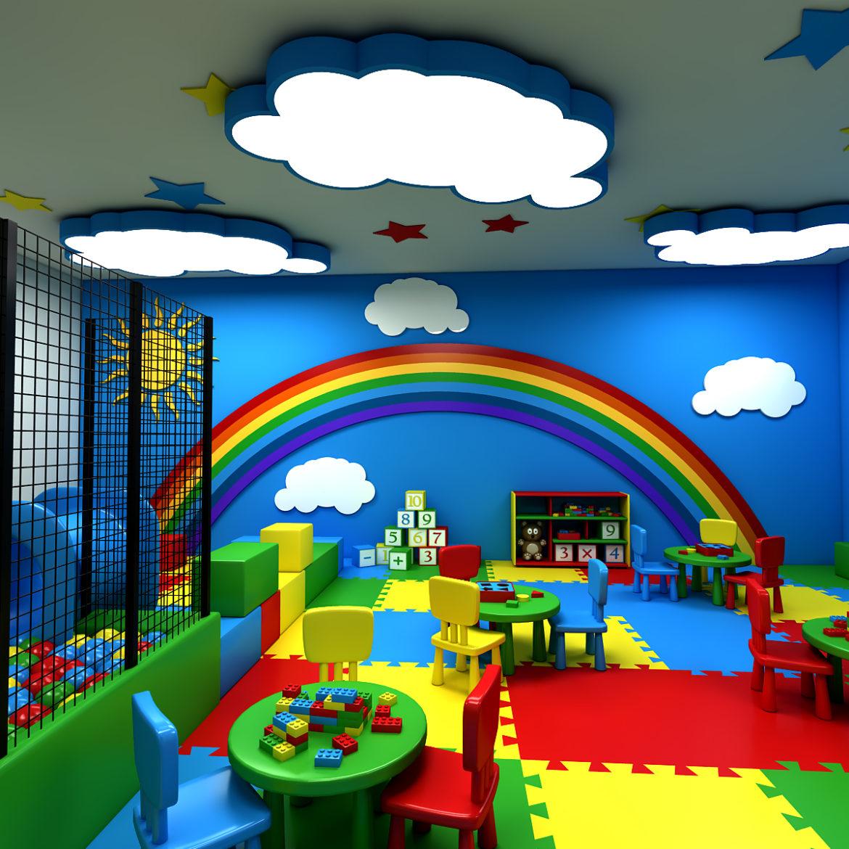 kindergarten 3d model 3ds fbx obj 320427