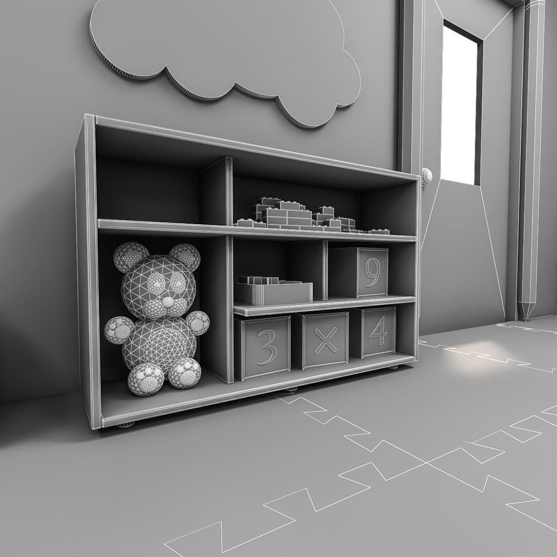 kindergarten 3d model 3ds fbx obj 320430
