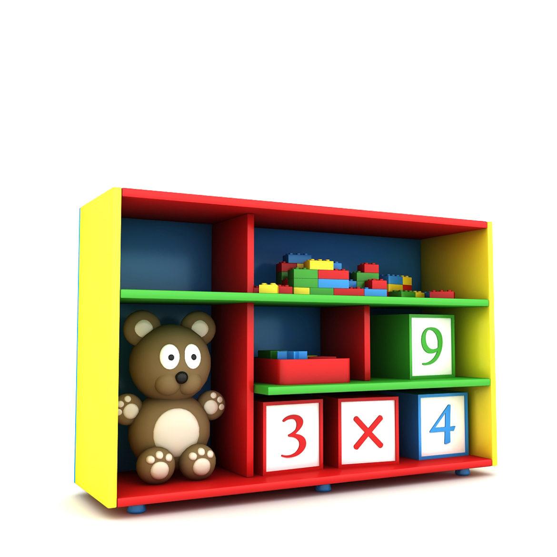 kindergarten 3d model 3ds fbx obj 320436