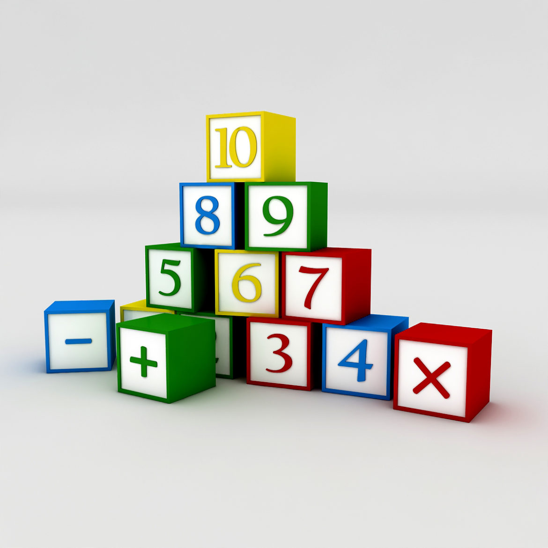 kindergarten 3d model 3ds fbx obj 320437