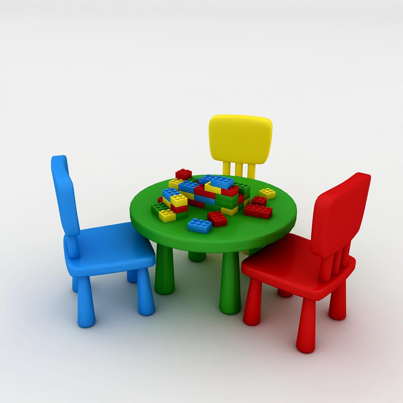 kindergarten 3d model 3ds fbx obj 320438