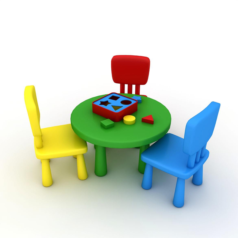 kindergarten 3d model 3ds fbx obj 320439