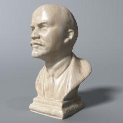 Владимир Ленин бюст 3d модел max fbx obj 320582