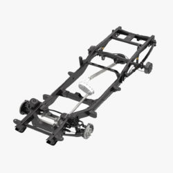 pickup truck chassis 4wd ifs 3d model 3ds max fbx blend obj 320594