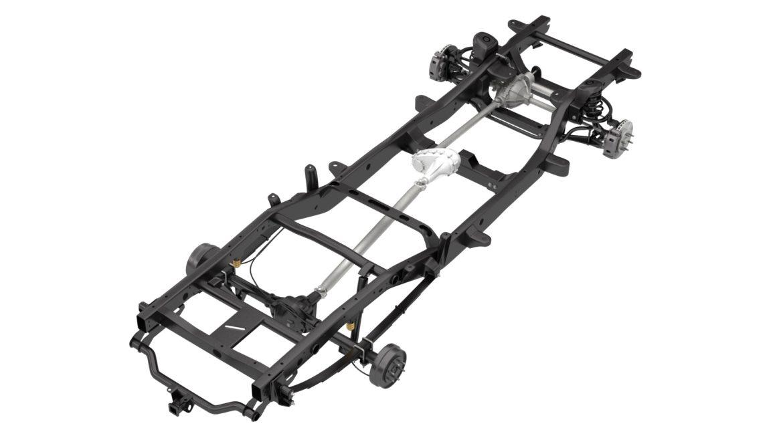 pickup truck chassis 4wd ifs 3d model 3ds max fbx blend obj 320596