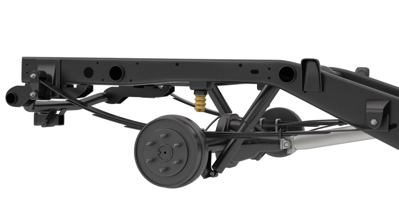 pickup truck chassis 4wd ifs 3d model 3ds max fbx blend obj 320599