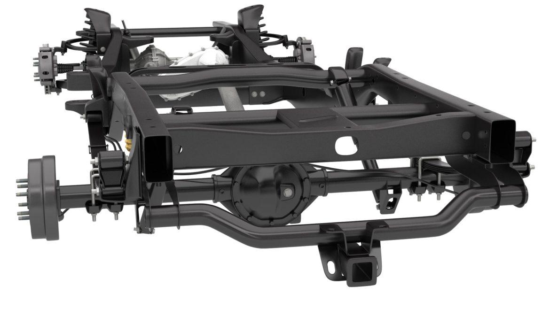 pickup truck chassis 4wd ifs 3d model 3ds max fbx blend obj 320600