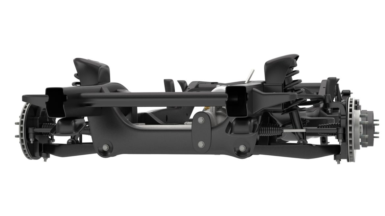 pickup truck chassis 4wd ifs 3d model 3ds max fbx blend obj 320601