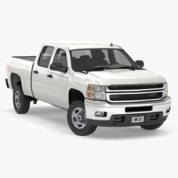 všeobecný pickup s kabínou pre posádku 17 3d model 3ds max fbx blend obj 320717