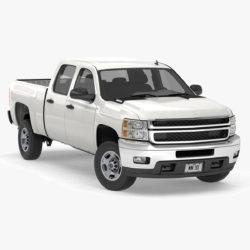 generieke pick-up truck met dubbele cabine 17 3d-model 3ds max fbx blend obj 320717