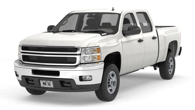 generic crew cab pickup truck 17 3d model 3ds max fbx blend obj 320718