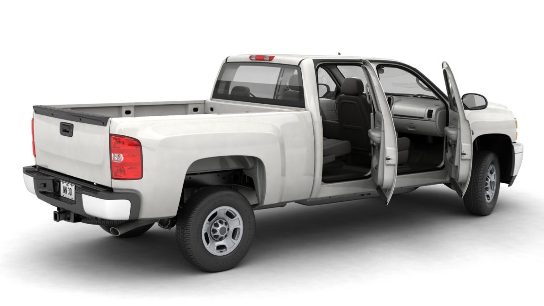 generic crew cab pickup truck 17 3d model 3ds max fbx blend obj 320719