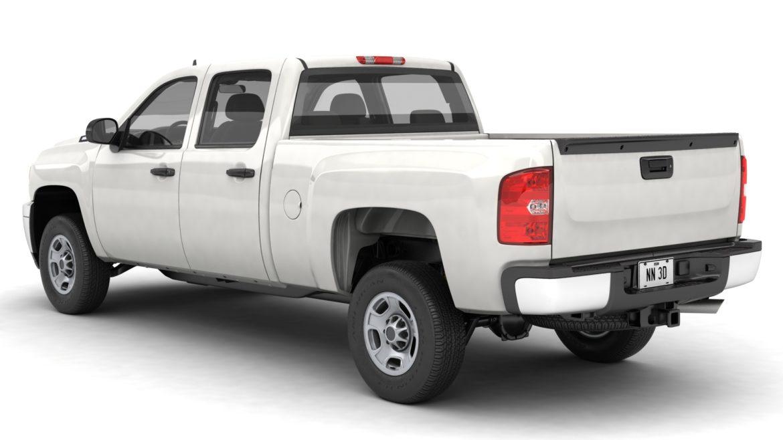 generic crew cab pickup truck 17 3d model 3ds max fbx blend obj 320720