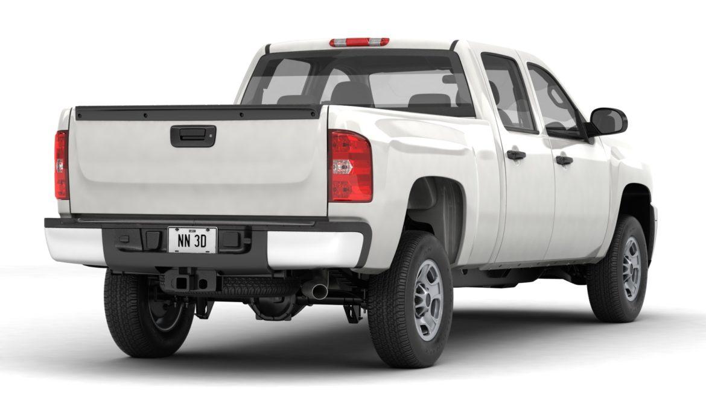 generic crew cab pickup truck 17 3d model 3ds max fbx blend obj 320721